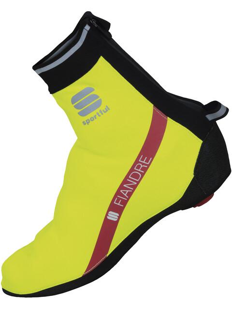 Sportful Fiandre Booties yellow fluo